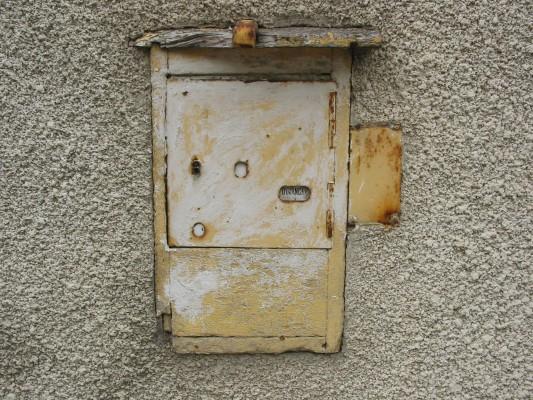 Boite Aux Lettres Encastree : La boîte aux lettres vieille tortue
